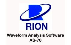 RION - Waveform Analysis Software AS-70